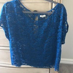 Blue Lace Aerie Top